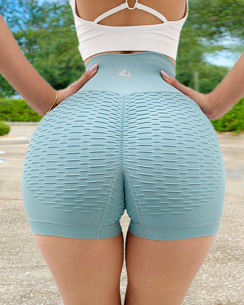 Wide Waistband Textured Sports Shorts gallery 15