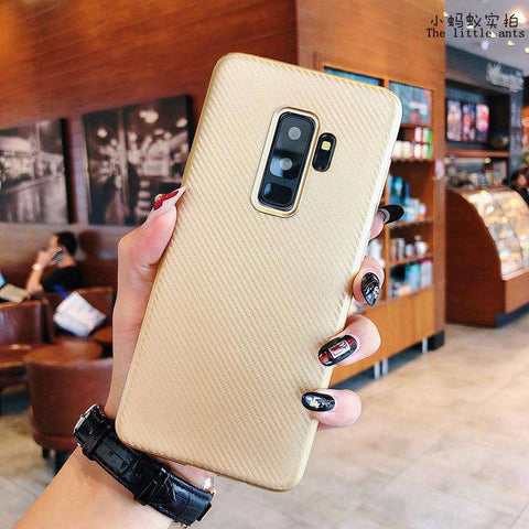 Textured Plain Phone Case for Samsung gallery 10