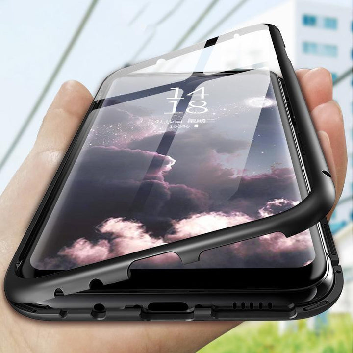 Ultra Slim Magnet Protective Phone Case For Samsung with Metal Frame gallery 1