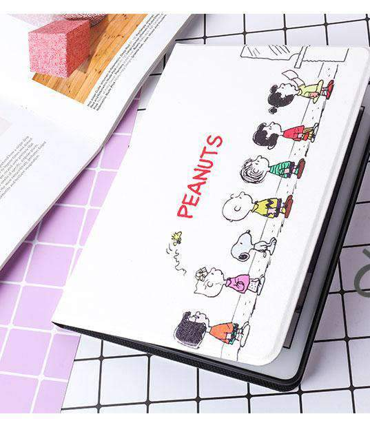 Creative Cute Cartoon Pattern Designed Apple iPad Cover Case
