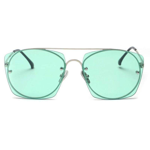 Chic Candy Color Square Shape Lens Street Fashion Sunglasses gallery 5