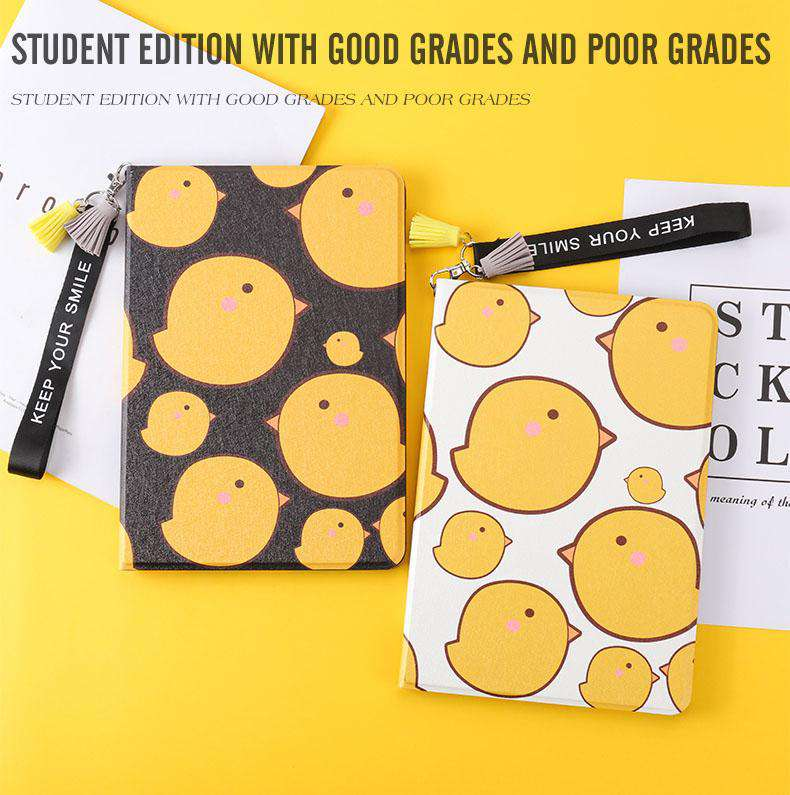 Lovely Yellow Chicken Painted Apple iPad Cover Case