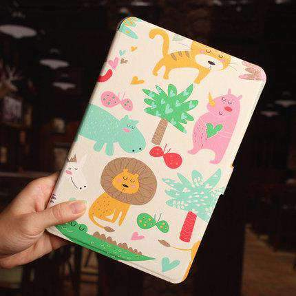 Creative Colorful Painted Apple iPad Cover Case gallery 1