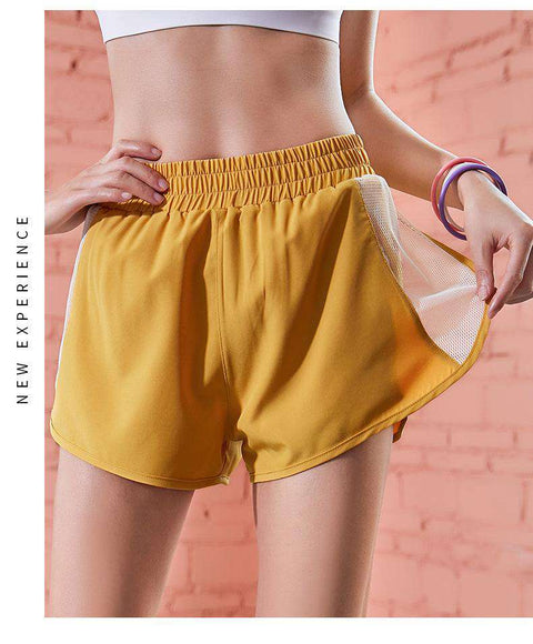 Loose Quick Dry Sports Running Fitness Yoga Shorts gallery 2