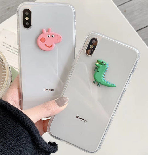 Cute Creative Dinosaur Phone Case for Samsung