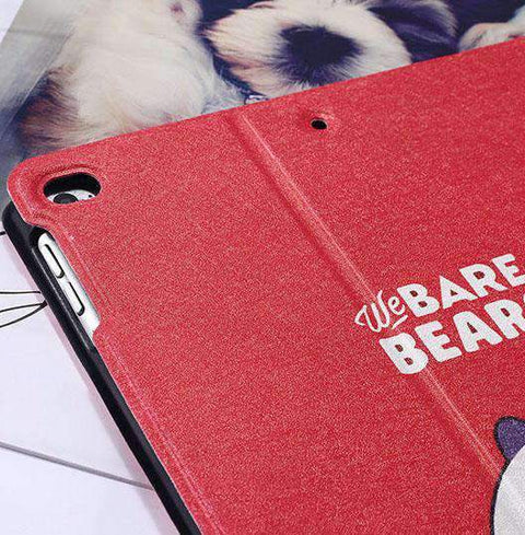 Cute Cartoon Bears Painted Apple iPad Cover Case gallery 3
