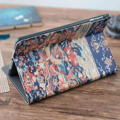 Birds & Phoenix Pattern Frosted Apple iPad Cover Case gallery 4