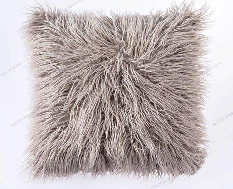 Fluffy Plush Pillow Cover gallery 1