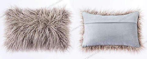 Fluffy Plush Pillow Cover gallery 4