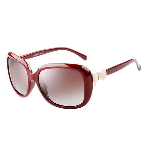 Vintage Fashion Design Polarized Lens with Bow Knot Side Sunglasses gallery 4