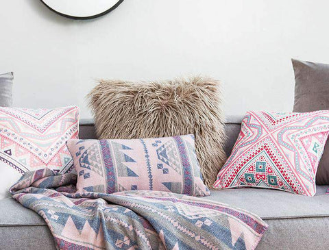 Fluffy Plush Pillow Cover gallery 9