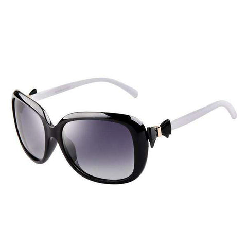 Vintage Fashion Design Polarized Lens with Bow Knot Side Sunglasses gallery 1