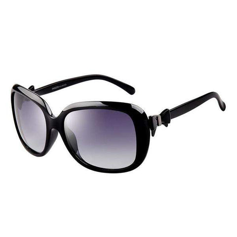 Vintage Fashion Design Polarized Lens with Bow Knot Side Sunglasses gallery 5