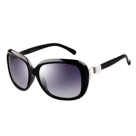 Vintage Fashion Design Polarized Lens with Bow Knot Side Sunglasses gallery 2