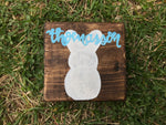 Customizable Easter Sign