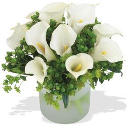 The FOF White Calla Bowl