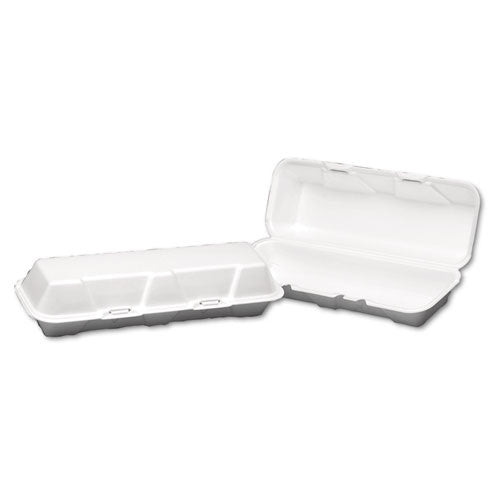 Genpak® Hinged-Lid Foam Carryout Containers