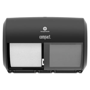 Georgia Pacific® Professional Compact® Coreless Side-by-Side Double Roll Tissue Dispenser