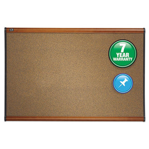 Quartet® Prestige® Colored Cork Bulletin Board