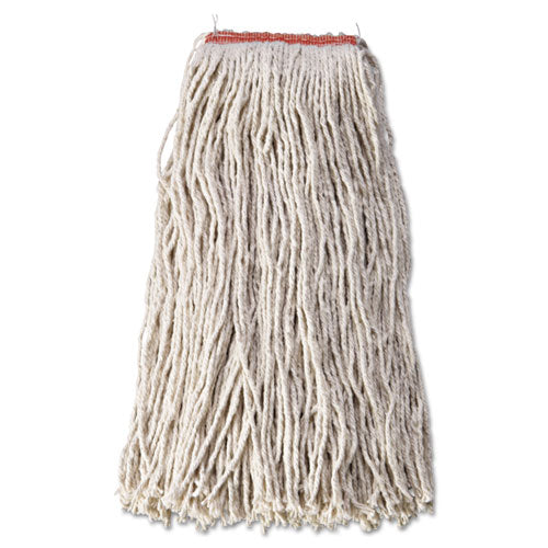 Rubbermaid® Commercial Non-Launderable Cotton-Synthetic Cut-End Wet Mop Heads