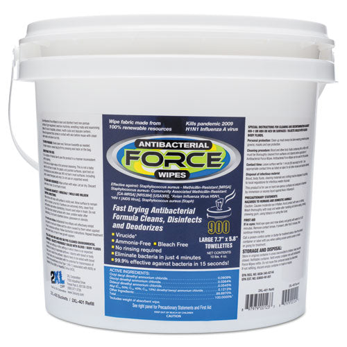2XL FORCE Disinfecting Wipes