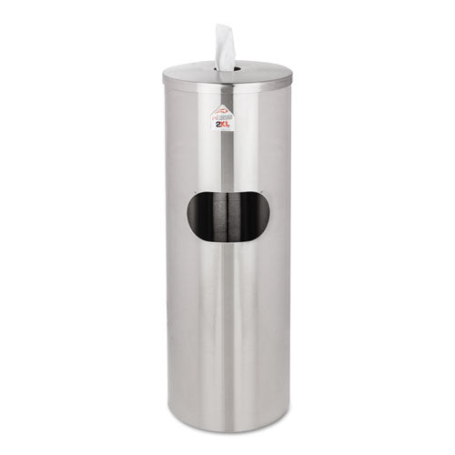 2XL Standing Stainless Wipes Dispenser