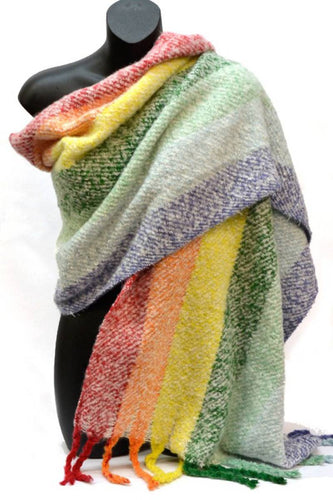 Rainbow Bright Snugly Wrap