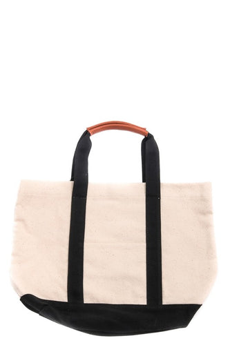 Little Mary Canvas Tote Blk
