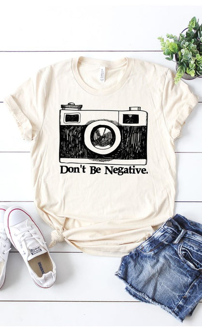 Don't Be Negative