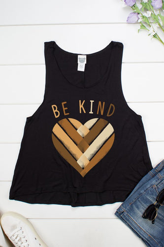 Be Kind Heart Tank
