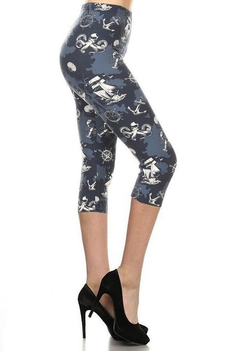 Pirate Story Leggings ONE SIZE