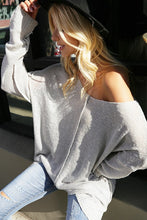 Classic Sweater Tunic Grey