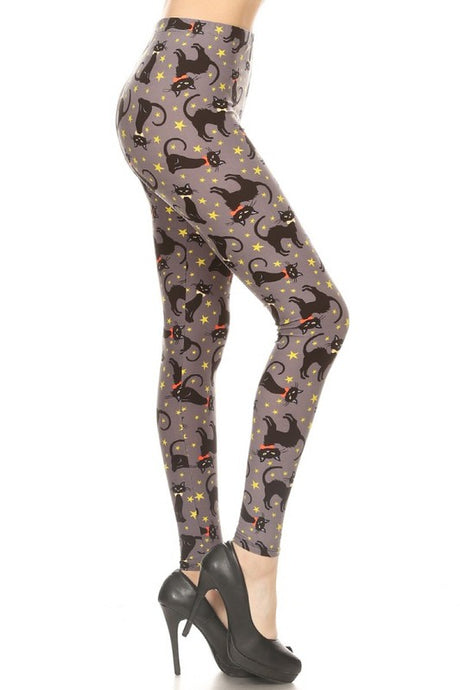 Pussi-Cat Leggings OS
