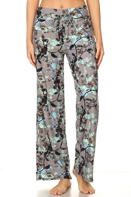 Floral Bouquet Wide Leggings