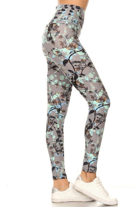 Floral Bouquet Yoga Leggings
