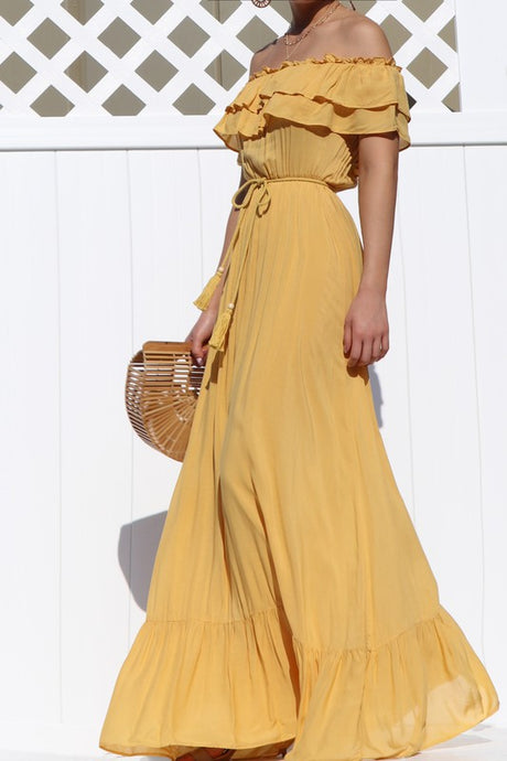 Wild Sunflower Maxi