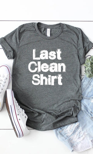 Last Clean Shirt Deep Heather
