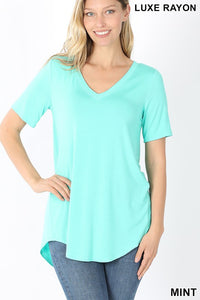 Luxe Tee Mint