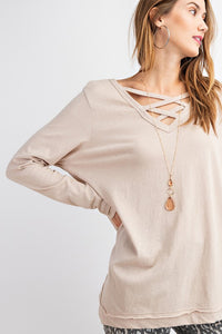 Lucy Pullover Khaki