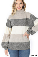 Jill Turtleneck Sweater Gry