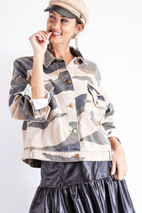 Desert Fun Denim Jacket