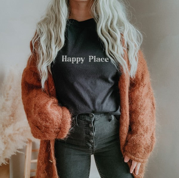 Happy Place Black
