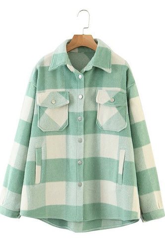 Country and Chic Xtra Flannel Mint