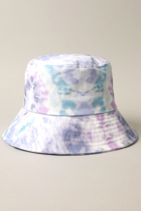 Tie-Dye Bucket Hat Navy