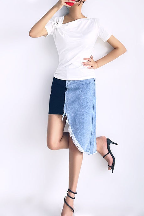 Deville Denim Skirt