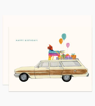 Party On The Way Card