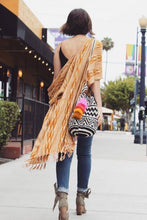 Waterfall Tassel Pink Multi