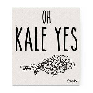 Oh Kale Yes Dishcloth