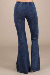 Mermaid Flares Electric Blue