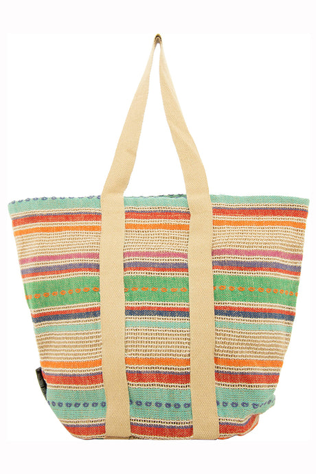 Freezia Jute Bucket Tote